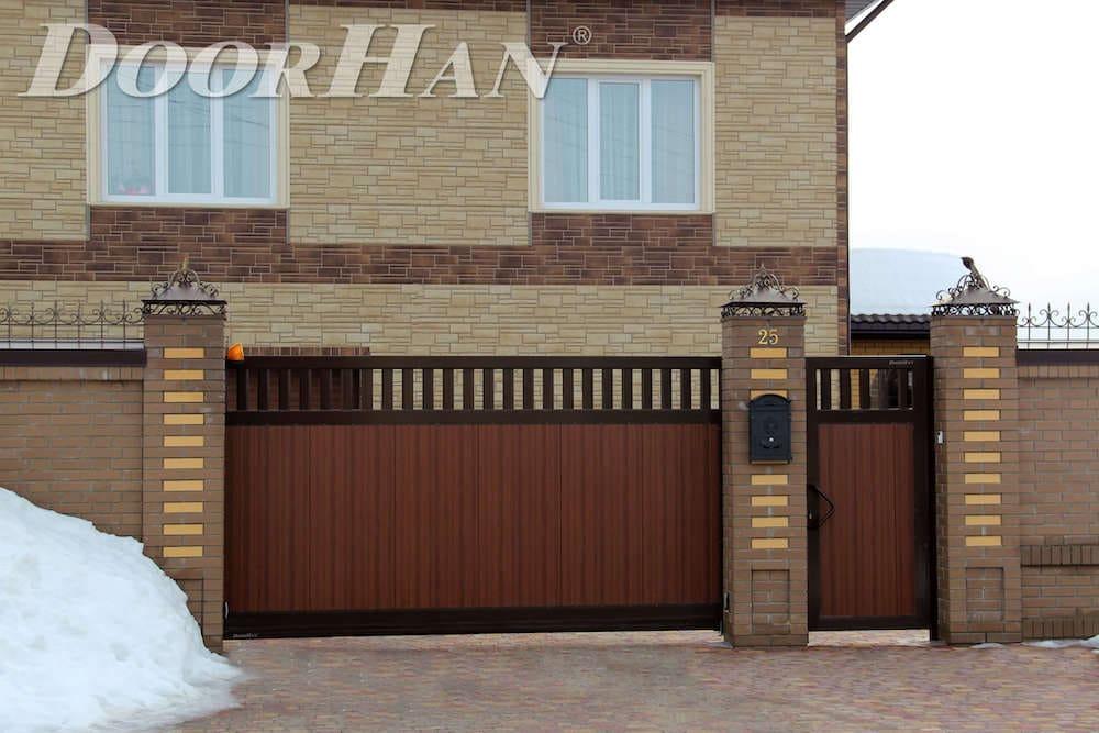 Автоматические ворота дорхан для гаража